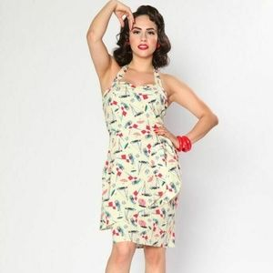 ❤️NWT❤️ Bettie Page Sailboat Hilo Honey Dress